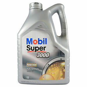 Mobil Super 3000 X1 5w 40 Fully Synthetic Engine Motor Oil 5