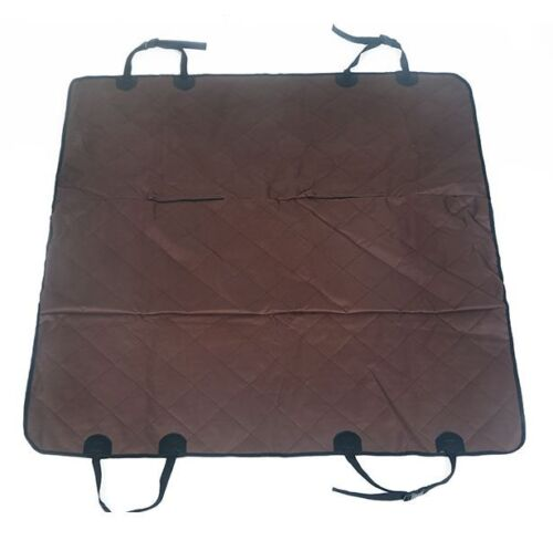 New Pet Dog Car Back Seat Cover Protector Waterproof Pets Floor Mat Black//Brown