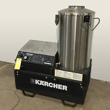 Used Karcher Hds 3005 3phnatural Gas 5gpm 3000psi Hot Water Pressure Washer
