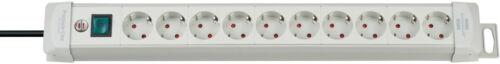 Steckerleiste mit Schalter Steckdosenleiste 10-fach Brennenstuhl Premium-Line