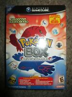 Pokemon Box: Ruby and Sapphire (Nintendo GameCube, 2004) NEW Factory Sealed