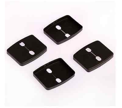 Car Door Lock Protective Cover Kit Fit For BMW 3 5 Series X1 X3 X5 X6 Z4 4pcs