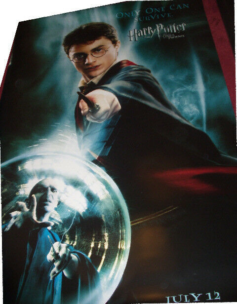 Cinema Banner: HARRY POTTER ORDER OF THE PHOENIX 2007 (Harry)