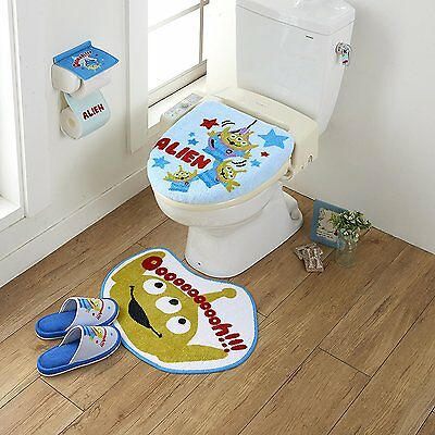 Disney Toy Story Alien Toilet Seat Paper Cover Set With