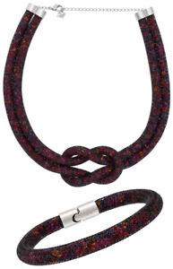 Swarovski-Stardust-Exclusive-Edition-Multicolor-Necklace-amp-Bracelet-Set-5184480