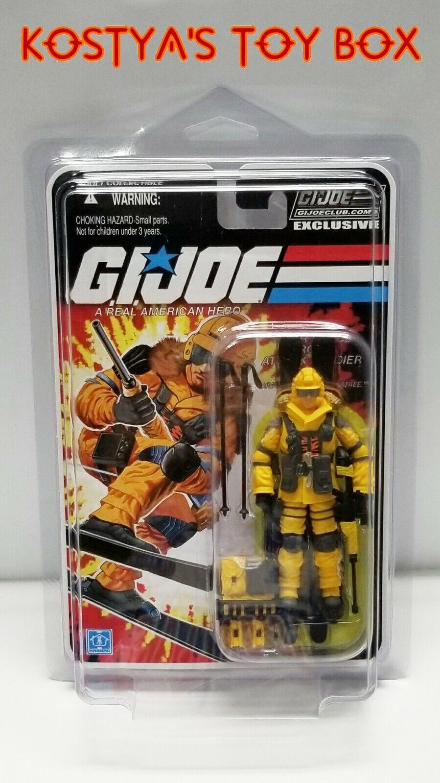 GI Joe Tiger Force BLIZZARD 2019 MOC FSS Collectors Club Final 12 Action Figure
