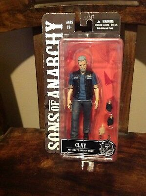 Sons of Anarchy 6-Inch Action Figure SOA Clay Morrow Mezco NEW