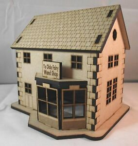 Build-Your-Own-Fairy-Village-in-Miniature-Wooden-Model-House-Kit