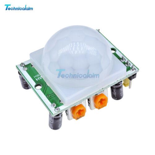 10PCS HC-SR501 DC 4.5-20V Pyroelectric IR Infrared PIR Motion Sensor Detector