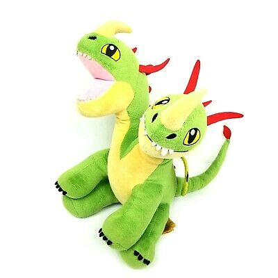 2 Headed Dragon Build A Bear How To Train Your Dragon Plush Toy Barf Belch Bab Ebay