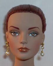 OOAK Art Doll/ Tonner/ Barbie/ Earrings- Small Hole- Pearl Pastel- U Pick Color