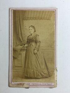 Image Is Loading Victorian Carte De Visite CDV Photo Lady Bryron