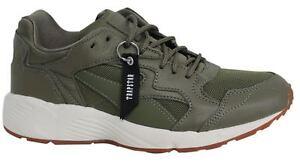 Puma x Trapstar PREVAIL con lacci verde oliva scuro Scarpe sportive uomo 363469