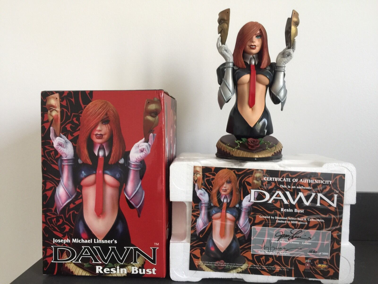 DAWN 6 INCH BUST DIAMOND SELECT JOE LINSNER 1630 5000