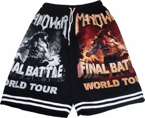 MANOWAR Short Pants Music Rock Metal Death Thrash Heavy Black Alternative