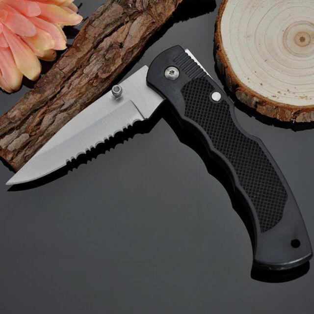 Outdoor Pocket Folding Fruit Knife Small camping Anti slip handle Blade Tool