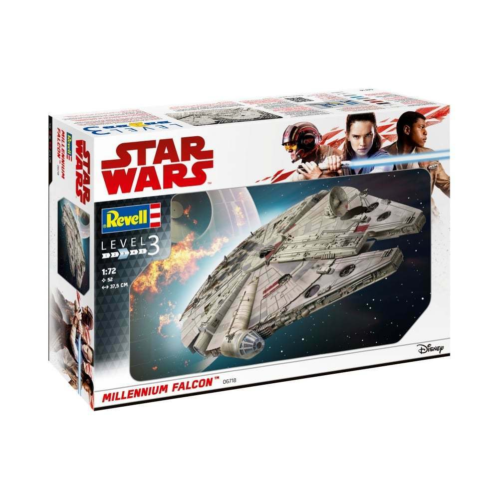 Revell 06718 1 72 Millennium Falcon Star Wars Model Kit