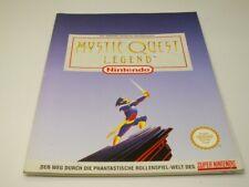 !!! NINTENDO SNES SPIELEBERATER Mystic Quest Legend GUT !!!