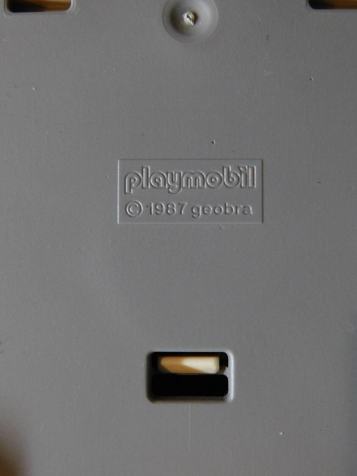 Playmobil Rarität Sportwagen 7844 mit    Schlafaugen  wie 3708-A 1992, ohne OVP d284fa