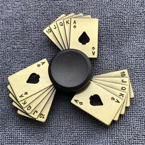 Fidget doigt Spinner main Spin Bearing Focus Stress Rainbow Royal Flash Poker