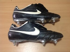 more photos 9e417 c9a89 Details about Nike Tiempo Legend 1 SG Zoom Air UK 11 EU 46 Football Boot  Soccer Cleat Wide Fit