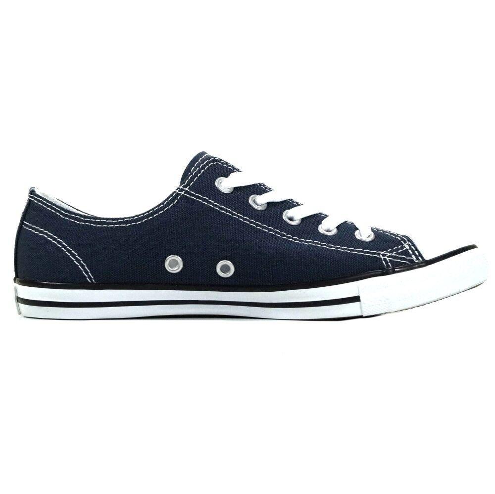 Converse Scarpe Da Donna Ct Dainty Dainty Dainty OX Blu 537649c scarpe da ginnastica Chucks Blu Scuro 42 b72839