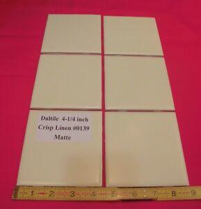 Pcs Matte Ceramic Tiles Crisp Linen By Daltile New Stock - Daltile maryland