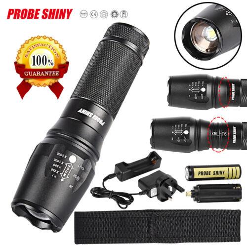 5000 Lumen G700 LED Zoom 18650 Flashlight X800 Military Lumitact Torch Light UK.