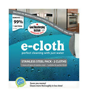E-cloth Stainless Steel Polyester / Polyamide Cleaning Cloth 2-pack 10617