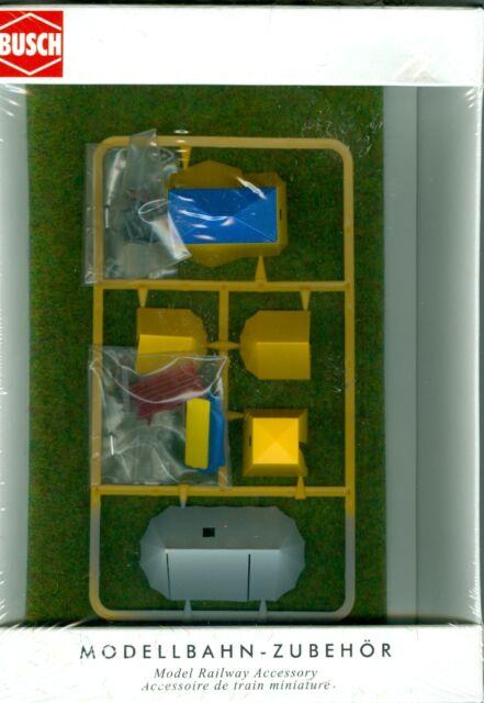 Busch 6026 TENTES de camping,6 pièces,H0