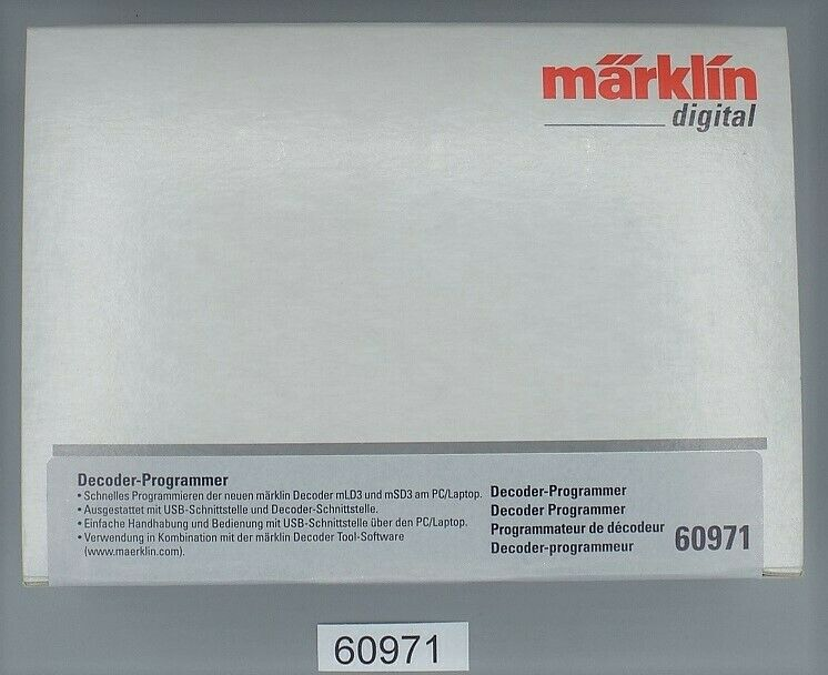 Marklin 60971 DECODER-Grammer  neu in OVP     risparmiare sulla liquidazione