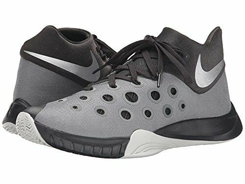 free shipping fde33 2f5d9 Nike Zoom Hyperquickness 2015 Tumbled Grey Deep Pewter Night Silver 9.5