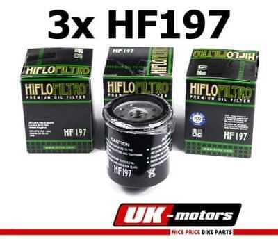 3x Hiflo Ölfilter Oil Filter HF153 HIFLO