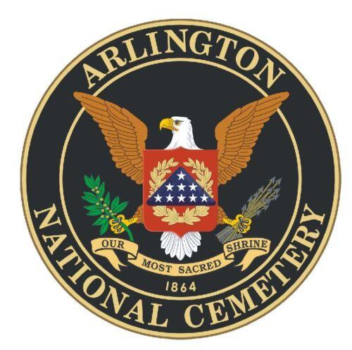 Cimetière National d/'Arlington Autocollant Militaire Forces Armées Decal M281