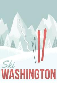 Ski-Washington-Retro-Travel-Poster-24x36-inch