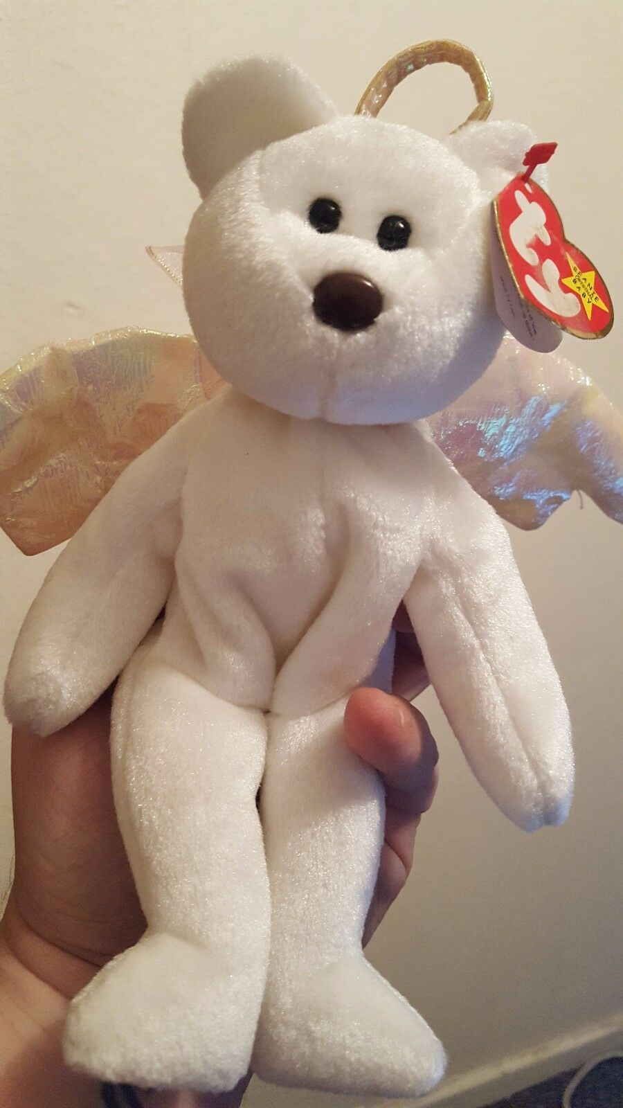 Ty Beanie Baby Halo Good Condition RARE BROWN NOSE, Other Errors
