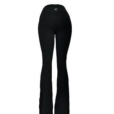 VC High Mid Waist Tummy Control Yoga Boot Cut Pants VC6F Tall Petite Light Gray