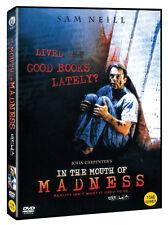 In The Mouth Of Madness (1995-John Carpenter, Sam Neill, Julie Carmen) DVD NEW