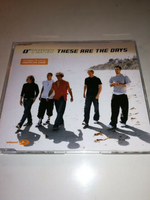 CD Maxi OTown, These are the Days