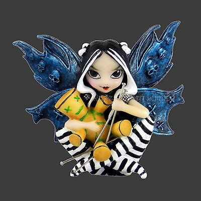 **FAIRY VOODOO** Gothic Fantasy Art Sitting Figurine By Jasmine Becket-Griffith