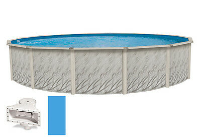 """18'x33'x52"""" Oval MEADOWS Above Ground Swimming Pool & Liner Kit-30 Year Warranty"""