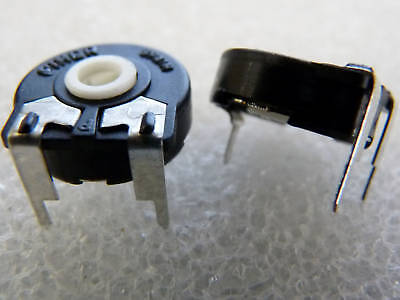 10 résistances ajustables cermet 10K HDK trimmer