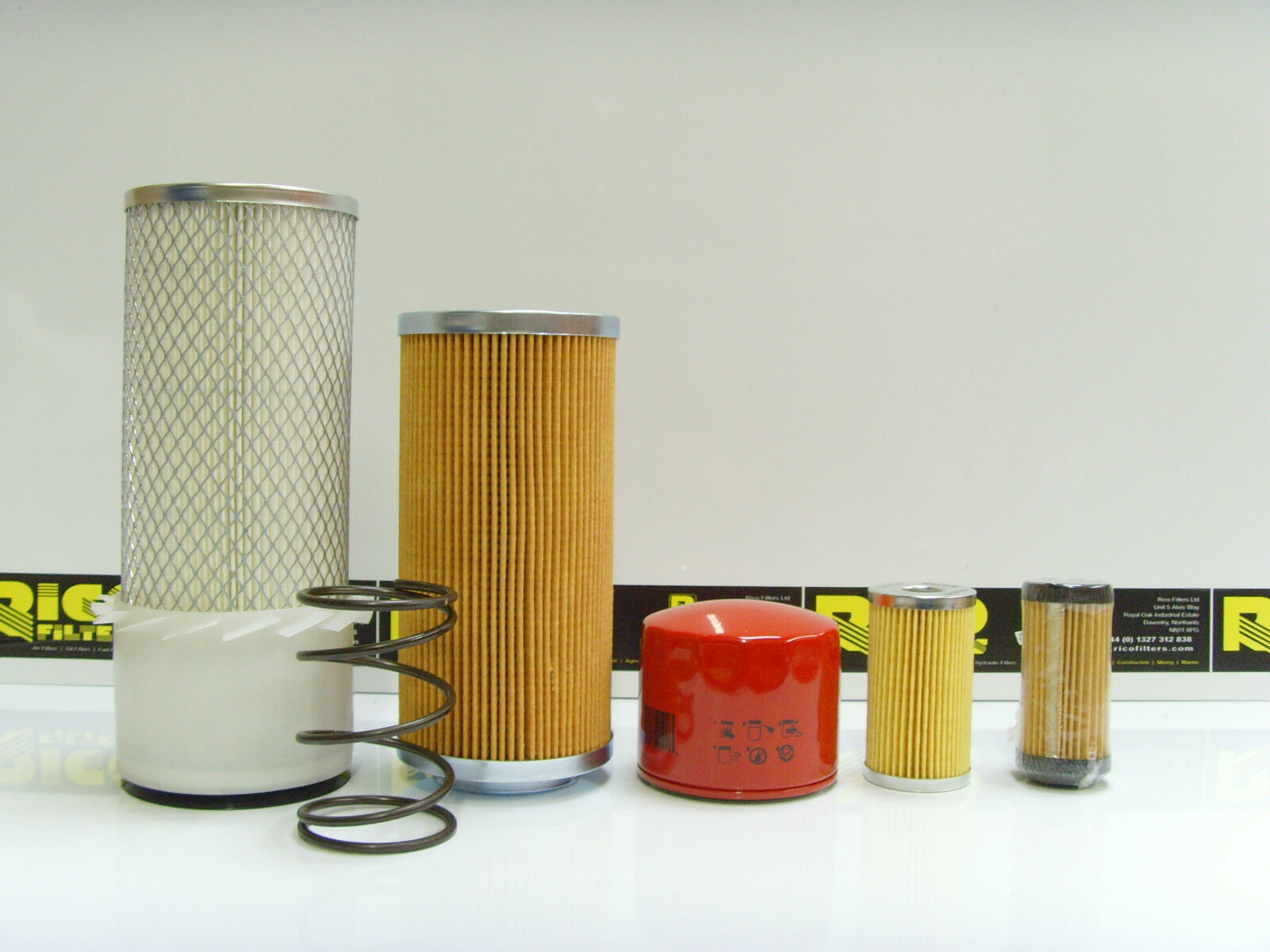 Komatsu PC14R Filter Service Kit