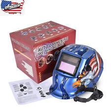 Blue True Color Pro Solar Welder Mask Auto Darkening Welding Helmet Din 49 13