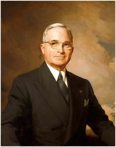 President TRUMAN Famous Government Photo United States Historic Picture Print