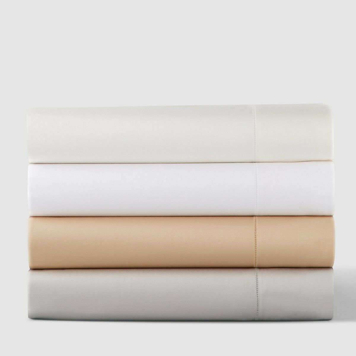 SFERRA Fiona 3200 Egyptian Cotton Sateen KING Flat Sheet Weiß  210 F082