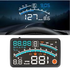 Car Hud Head Up Display Obd Ii Obd2 Auto Gauge 55 Dash Screen Projector