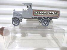 Lesney Matchbox Yesteryear Y6A OSRAM LAMPS 1916 LIGHT GREY AEC LORRY PVC Box