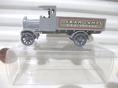 Matchbox Lesney Yesteryear  6 a AEC Y Type Osram Lamps Lorry Repro A Style Box