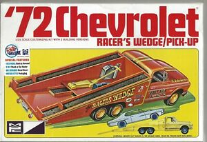 MPC 1972 '72 Chevrolet Racer's Wedge/ Pick-up 1/25, 2 Building Options 885 /12